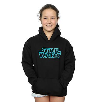 Star Wars Girls Neon Sign Logo Hoodie