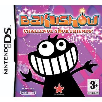 Bakushow (Nintendo DS) - New