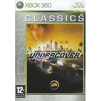 Need For Speed Undercover Game (Classics) Xbox 360 - Factory Sealed