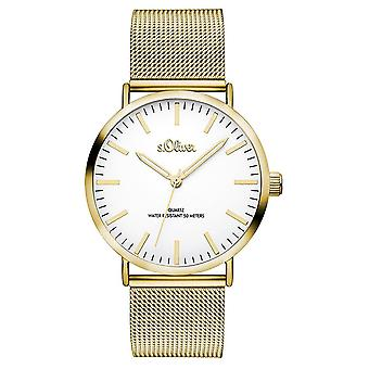 s.Oliver women's watch wristwatch stainless steel SO-3238-MQ