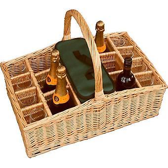 Large Drinks Basket Carrier