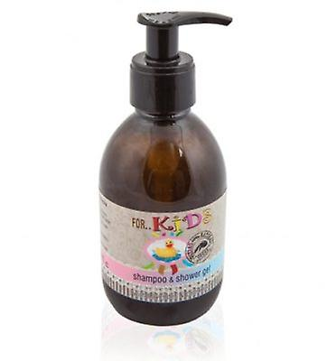 Natural shampoo and shower gel for Kids 250ml.