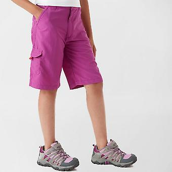 New Regatta Girl's Walking Treking Hiking Travel Shorts Purple