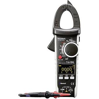 VOLTCRAFT VC-595OLED Clamp meter Calibrated to ISO standards Digital OLED display CAT III 600 V, CAT II 1000 V Display (counts): 6000
