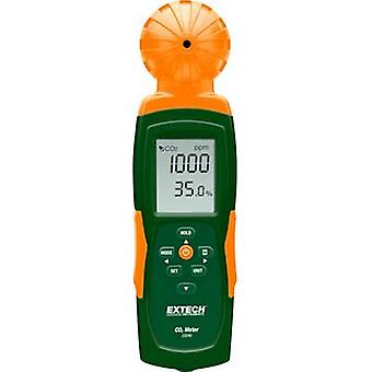 Extech CO240 Carbon dioxide detector 0 - 9999 pages/min Thermometer, USB interface, Datalogger function