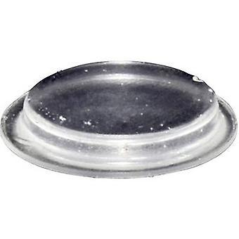 TOOLCRAFT PD2204C picior autoadezive, circular transparent (Ø x H) 19,7 mm x 3 mm 1 buc (e)