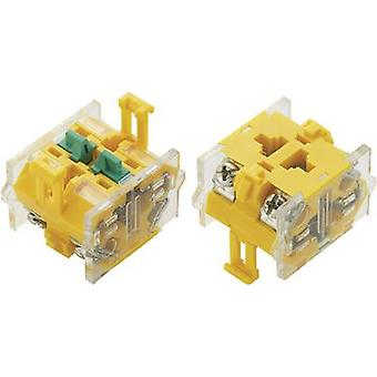 TRU COMPONENTS LAS0-C Contact 2 makers momentary 500 V AC 1 pc(s)
