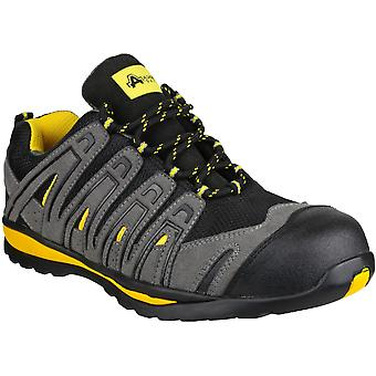 Amblers Safety Mens FS42C Safety Trainers Black