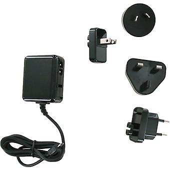 Unlimited Cellular International Charger Kit for Motorola Xoom 2, ARCHOS G9, Blackberry Playbook (Black) - TCK-P12