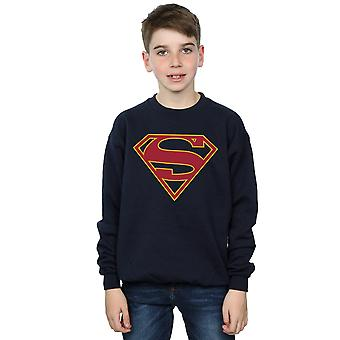 DC Comics Boys Supergirl Logo Sweatshirt
