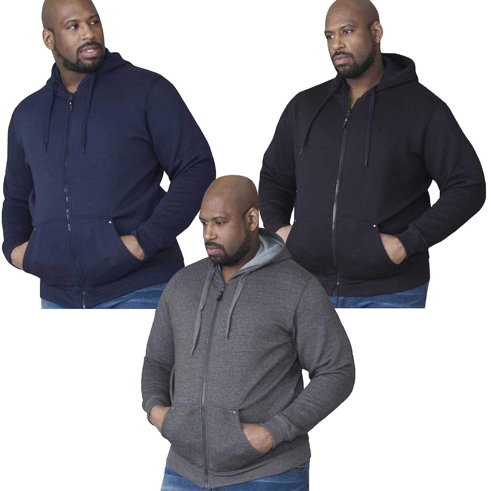 Duke Rockford Cantor Mens King Size Big Tall Hooded Hoody Hoodie Sweatshirt
