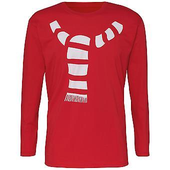 Christmas Shop Mens Scarf Long Sleeve T-Shirt