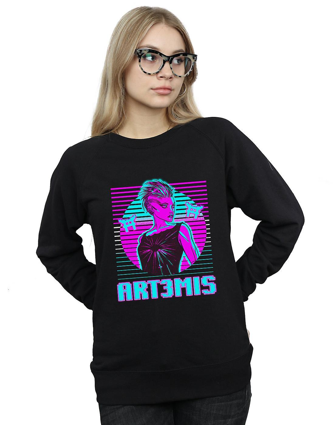 Ready Player One Women's Neon Art3mis Sweatshirt