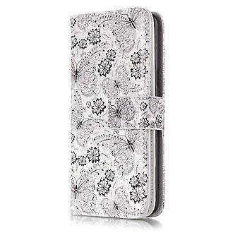 Samsung Galaxy S9 sacchetto 9 scheda slot-farfalle e fiori