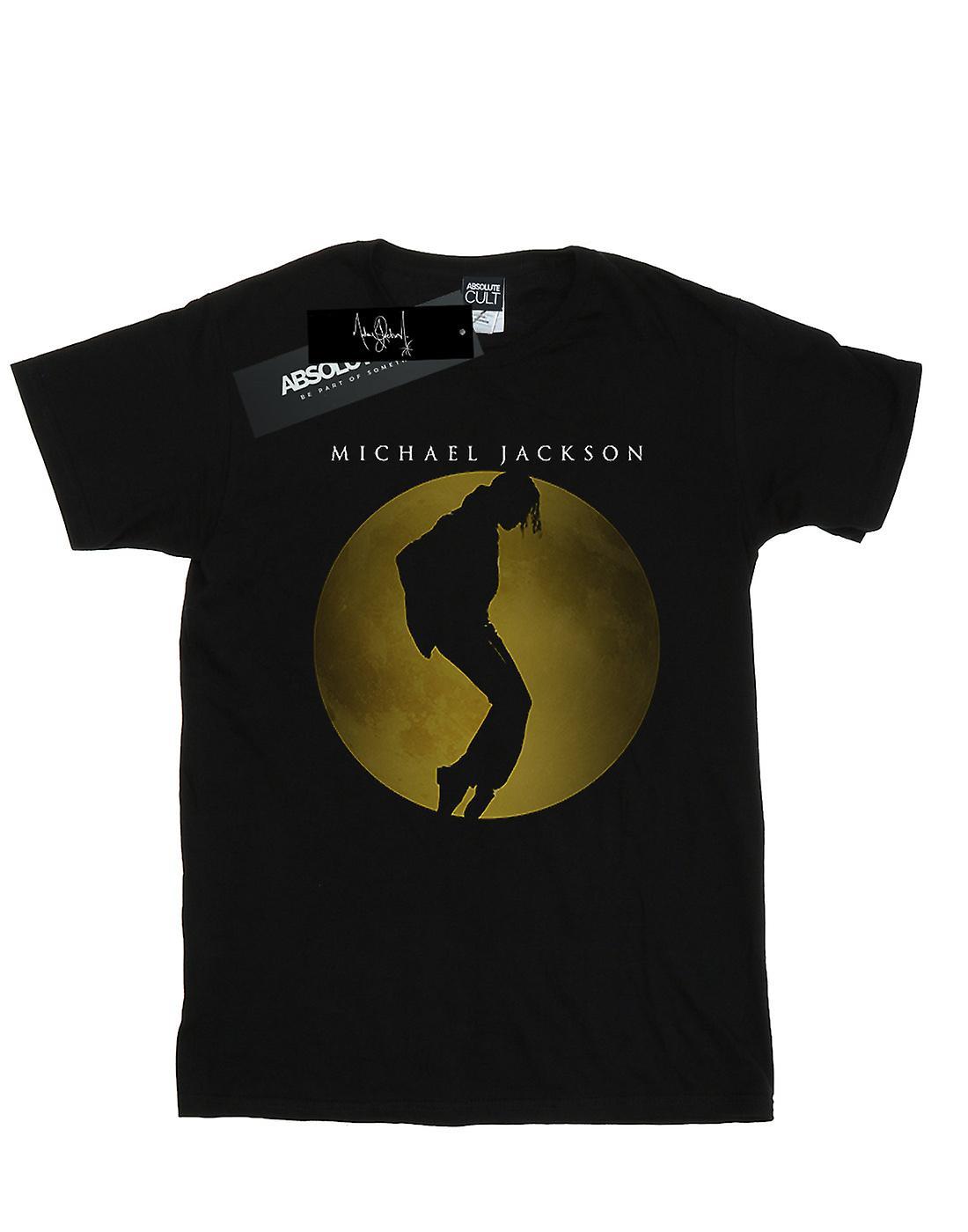 Michael Jackson Girls Moon Circle T-Shirt