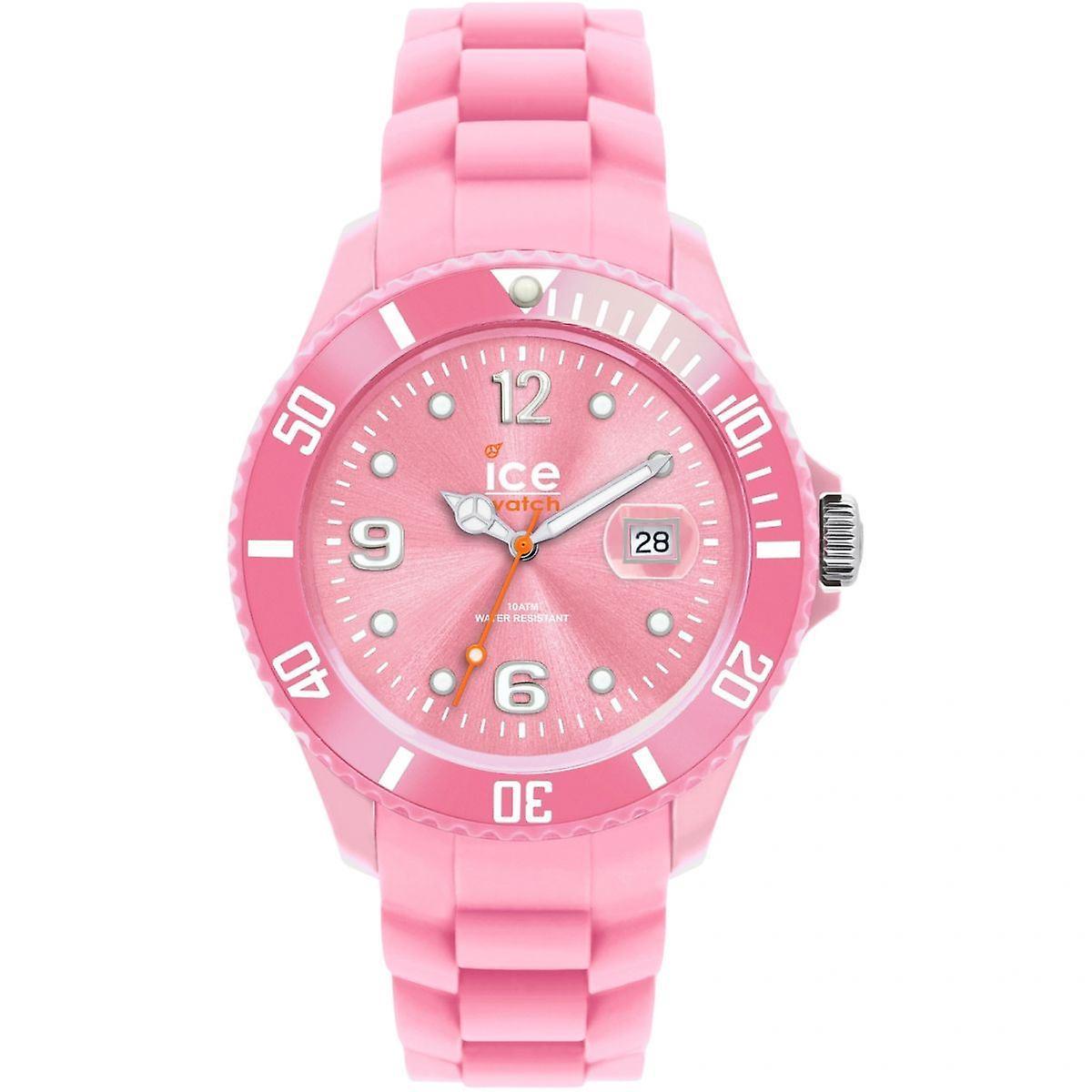 GLACE dames montre femmes rose visage bracelet rose 000140