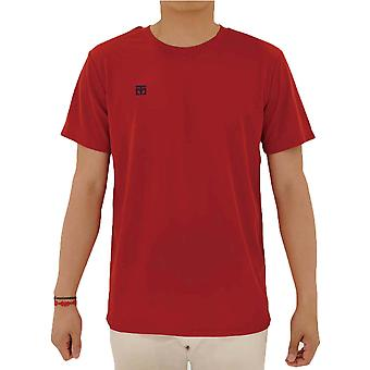 Mooto Cool Round Performance Kids T-Shirt Red