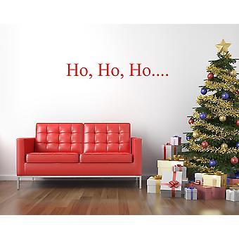 Ho Ho Ho クリスマス ウォール ステッカー