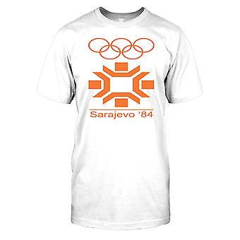 Övre 84 vinter OS Mens T Shirt