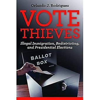 Abstimmung-Diebe: Illegale Einwanderung, Redistricting und Präsidentschaftswahlen