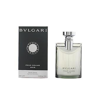 Bvlgari Bvlgari Pour Homme Soir Edt Spray 100 Ml para hombres