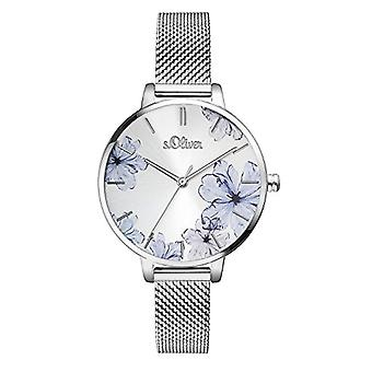s. Oliver Analog quartz ladies with stainless steel strap SO-3523-MQ