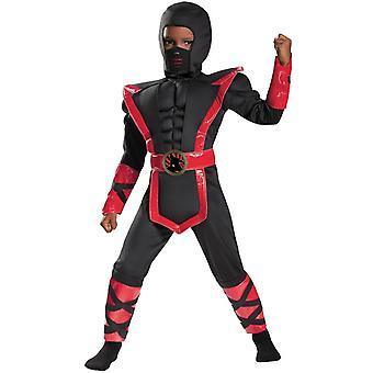 Toddler Boys Muscle Ninja Costume