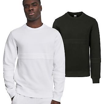 Urban classics - heavy pique crewneck sweater