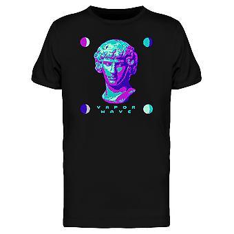Griechische Vaporwave Grafik T-Shirt Herren-Bild von Shutterstock