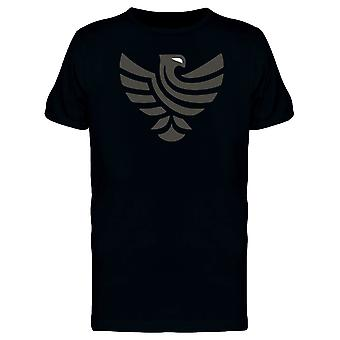 Black Eagle With White Eyes Tee Men's -Image by Shutterstock