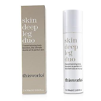 This Works Skin Deep Leg Duo - 2x50ml