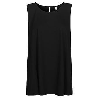 Rosch 1194603-11741 Top da pigiama donna curva Jet nero