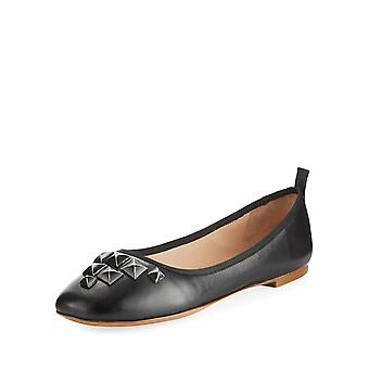 Marc Jacobs Womens Cleo Closed Toe Ballet Flats