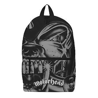 Motorhead Backpack Bag Warpig Zoom Band Logo all over print new Official Black