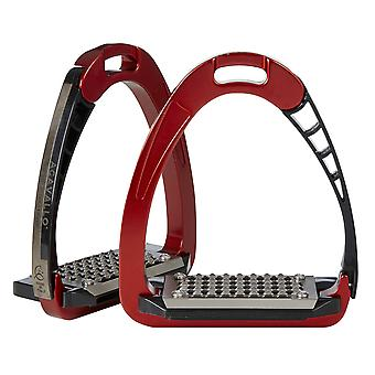 Acavallo Arena Safety Stirrups - Rot