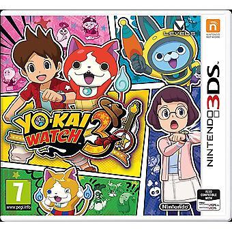 يو كاي ووتش 3 نينتندو 3DS لعبة