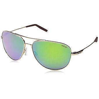Revo Windspeed RE 3087 04 GN Polarized Sunglasses Gold with Green Water Lens