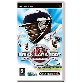 Brian Lara 2007 tryck spela (PSP)-nytt
