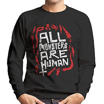 American Horror Story All Monsters Are Human Men's Sweatshirt