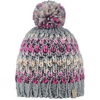Barts Womens/Ladies Nicole Classic Knitted Walking PomPom Beanie Hat