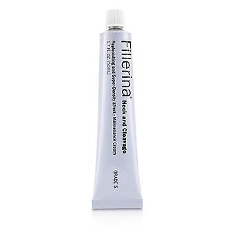 Fillerina Neck & Cleavage Replenishing & Super-density Effect - Maintenance Cream - Grade 5 - 50ml/1.7oz