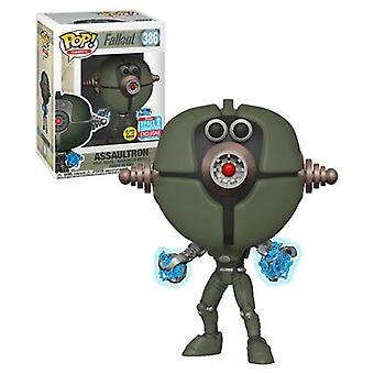 Fallout Assaultron Invader Glow NYCC 2018 pop! Vinyl