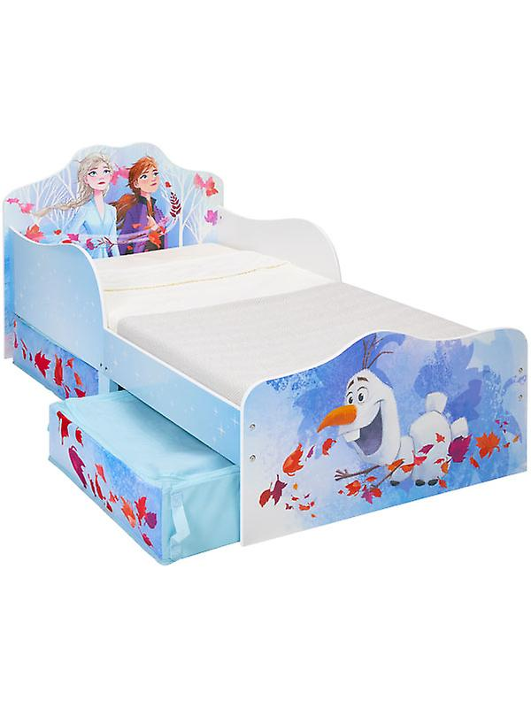 Disney Frozen 2 Toddler Bed with Storage