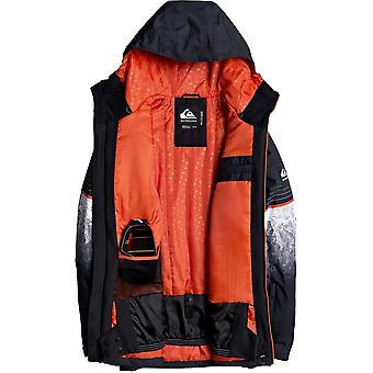 Quiksilver Silvertip Snow Jacket in Black Benzal