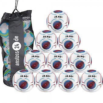 10 x James ungdom bollen Futsal ljus 3.0 innehåller bollen säck