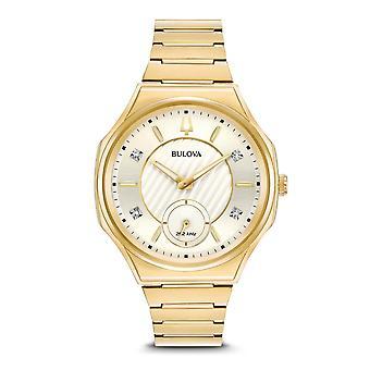 Bulova 97P136 Damen's Curv Diamant Set Armbanduhr