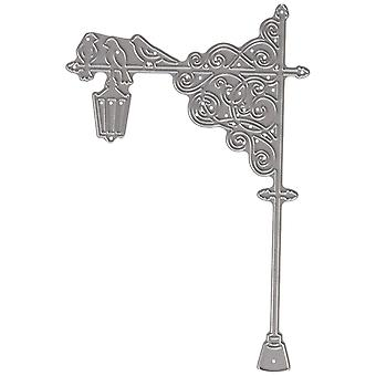 Luo ja Craft Metal Tattered Lace Die Lamp Post