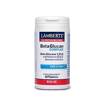 Lamberts Beta Glucans Complex 60 Capsules (One Day)