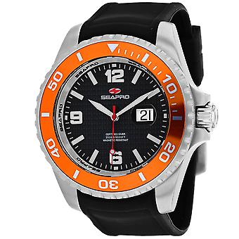 Seapro Men's Abismo 2000M Diver Reloj Black Dial Watch - SP0744