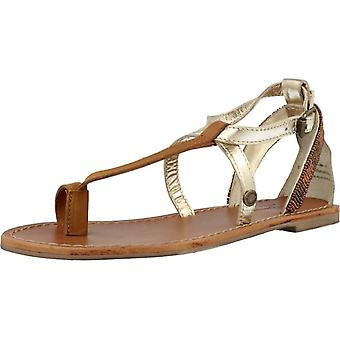 Pepe Jeans Sandals Jane Straps Metallic Color 099gold